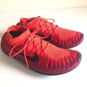 Nike Free Flyknit 3.0 Running Shoes Sz 9